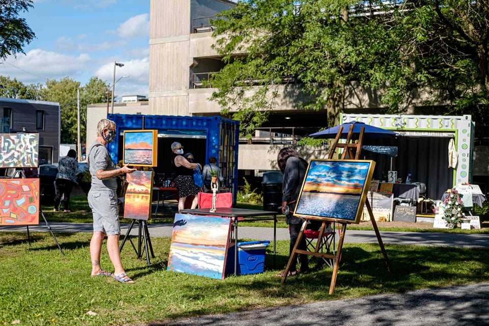 Cornwall Art Walk returns with double the vendors